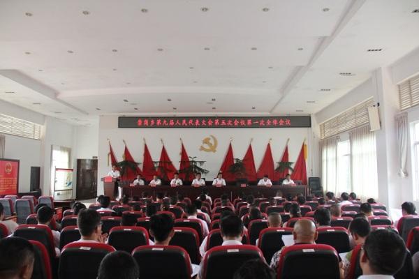 崇岗乡第九届人民代表大会第五次会议圆满召开